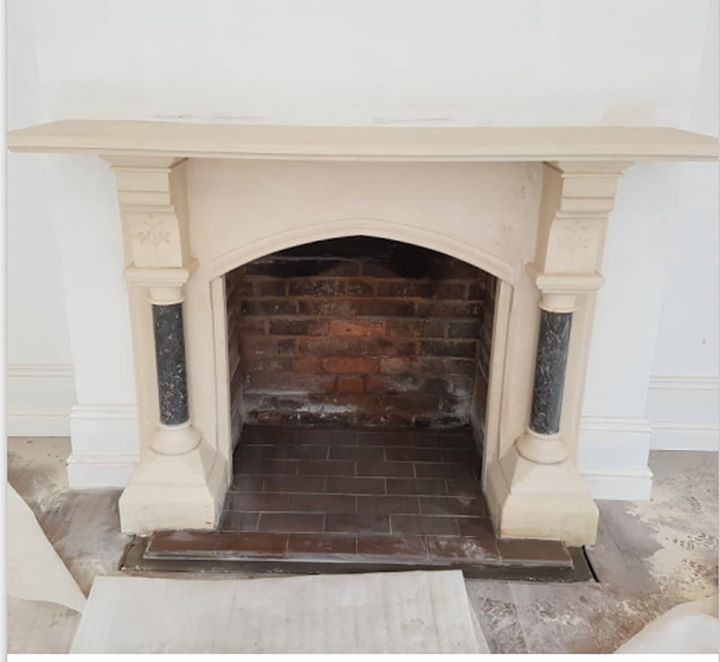 Traditional Open Fireplaces Fireplace Traditional Open