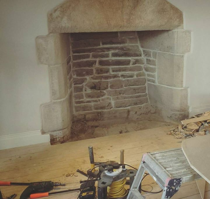 Prime A Traditional Stone Fireplace Having Some Repointing And A Download Free Architecture Designs Viewormadebymaigaardcom