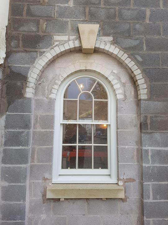 Fixed Arch Windows : Part of our fixing job today in northwales involved