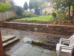 Finished our small sandstone wall repair today for a Clint in Chester. North Wales, North West, Wirral, Liverpool & Cheshire UK