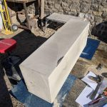 Check out these masons working large sandstone blocks with similar hand tools we use today. North Wales, North West, Wirral, Liverpool & Cheshire UK