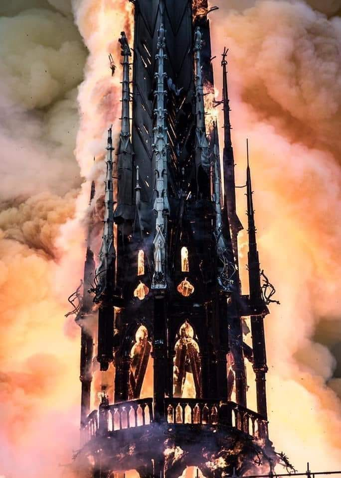 Such a shame seeing some of the masonry burning down. Hope everyone is safe and well. North Wales, North West, Wirral, Liverpool & Cheshire UK