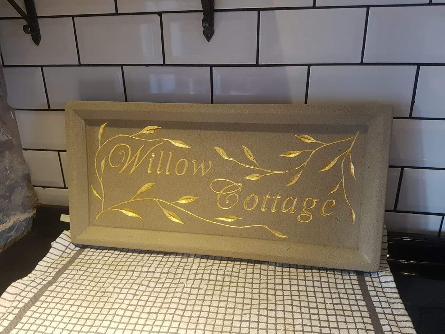 Hand carved sign for a customer who supplied their own design. North Wales, North West, Wirral, Liverpool & Cheshire UK