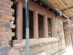 A recent job in Chester we fitted some red sandstone window cills that required to be cut to size due to the irregular brick sizes in the barn conversion. North Wales, North West, Wirral, Liverpool & Cheshire UK