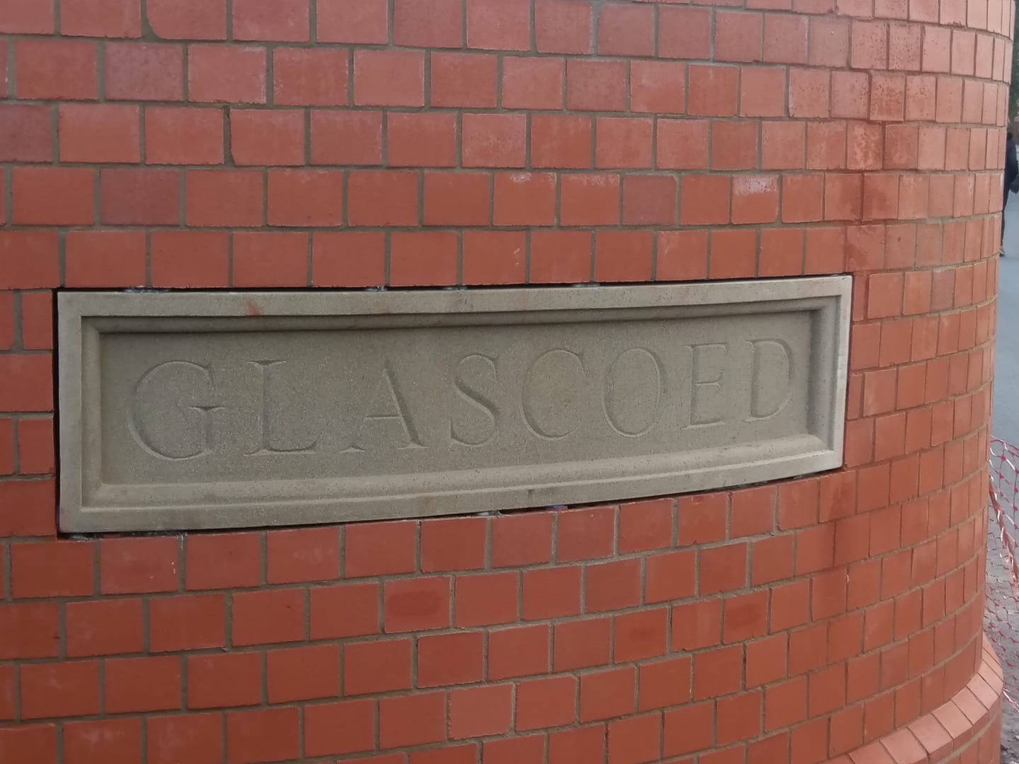 A hand carved limestone house sign we supplied for a north wales client. North Wales, North West, Wirral, Liverpool & Cheshire UK