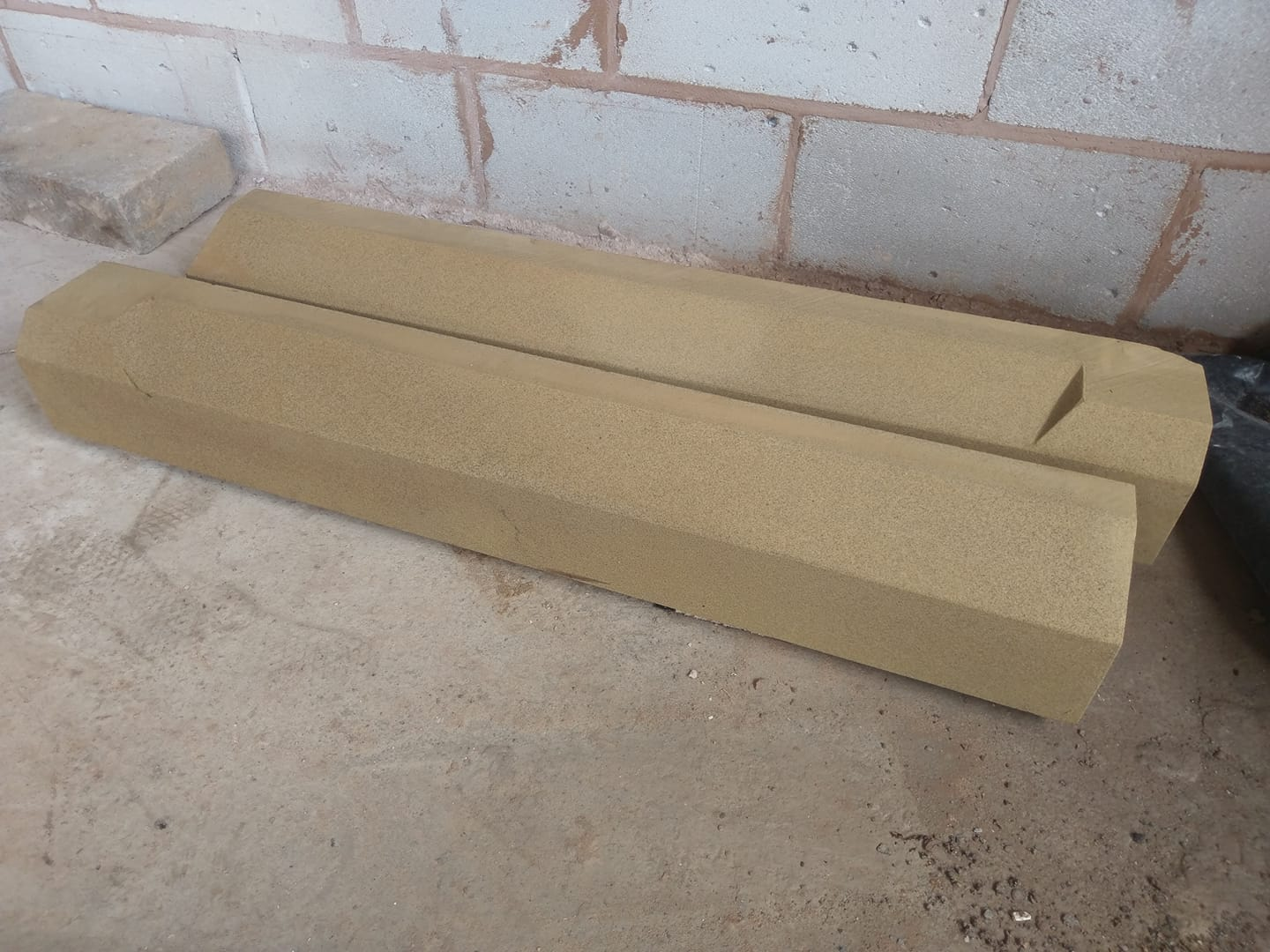 Another set of sandstone cills dropped of to client on the wirral. North Wales, North West, Wirral, Liverpool & Cheshire UK